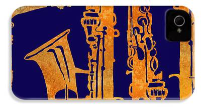 Saxophone iPhone 4 Cases