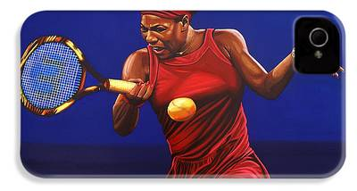 Serena Williams iPhone 4 Cases