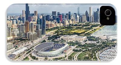 Soldier Field iPhone 4 Cases