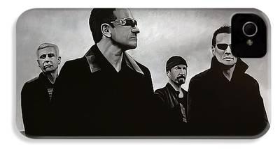 U2 iPhone 4 Cases