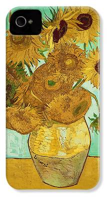 Sunflowers iPhone 4 Cases
