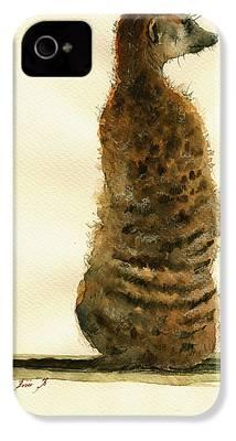 Meerkat iPhone 4 Cases