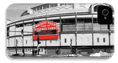 Wrigley Field iPhone 4 Cases