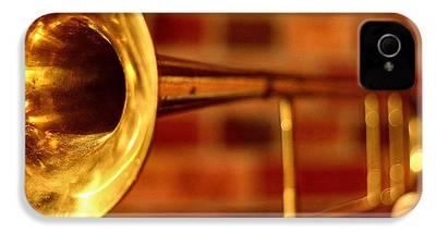 Trombone iPhone 4 Cases