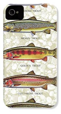 Trout iPhone 4 Cases