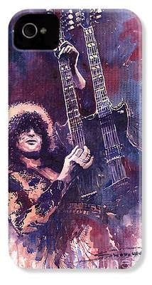 Jimmy Page iPhone 4 Cases