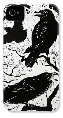 Raven iPhone 4 Cases