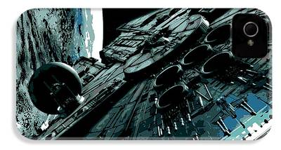 Space Ships iPhone 4 Cases