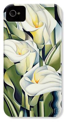 Lilies iPhone 4s Cases