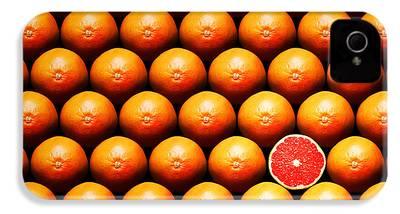 Grapefruit iPhone 4s Cases