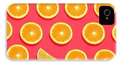Orange iPhone 4s Cases
