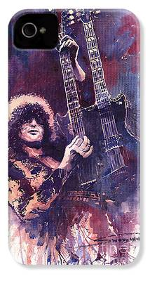 Jimmy Page iPhone 4s Cases