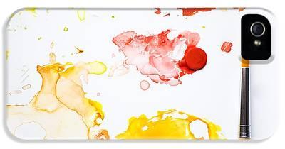 Paintbrush iPhone 5 Cases