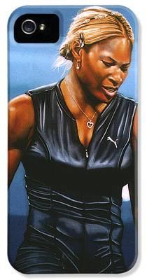 Serena Williams iPhone 5 Cases