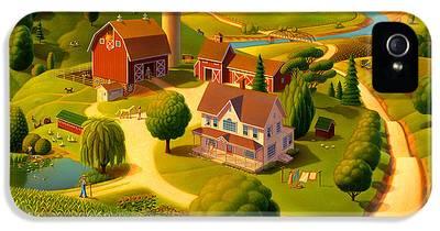 Rural Scene IPhone 5 Cases