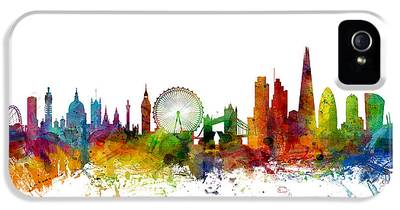 London Skyline iPhone 5 Cases
