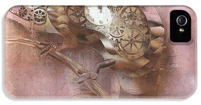 Abstract Steampunk iPhone 5 Cases