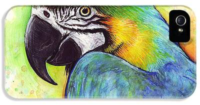 Parrot iPhone 5 Cases