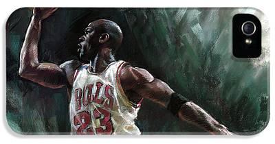Michael Jordan iPhone 5 Cases