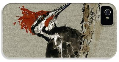 Woodpecker IPhone 5 Cases