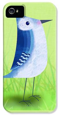 Bluebird iPhone 5 Cases