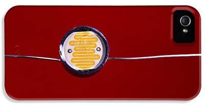 Light Dependent Resistor iPhone 5 Cases