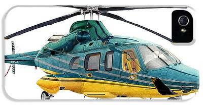 Helicopter IPhone 5 Cases