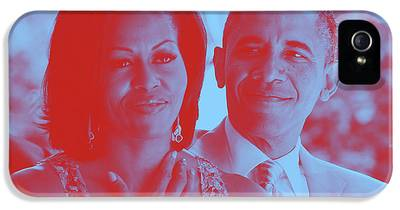 Barack And Michelle iPhone 5 Cases