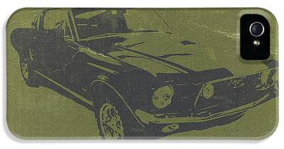 1968 Ford Mustang iPhone 5 Cases
