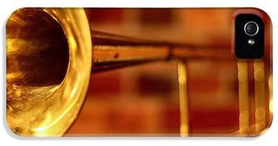 Trombone iPhone 5 Cases