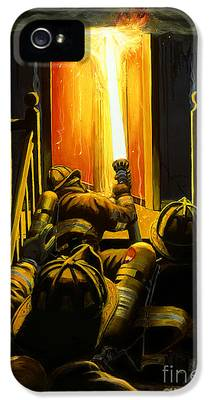 Fire iPhone 5 Cases