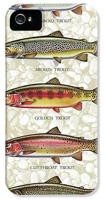 Trout iPhone 5 Cases