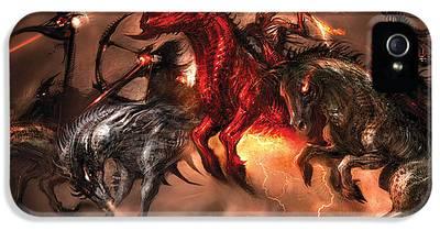 Four Horsemen Of The Apocalypse iPhone 5 Cases