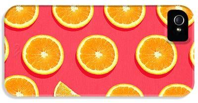 Orange iPhone 5 Cases