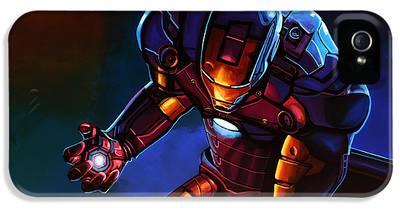 Iron iPhone 5 Cases