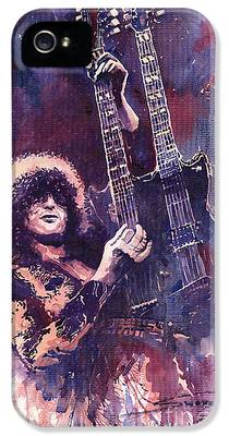 Jimmy Page iPhone 5 Cases