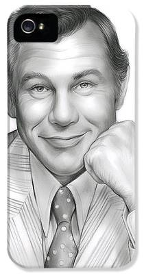 Johnny Carson iPhone 5 Cases