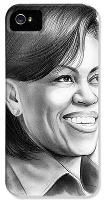 Michelle Obama iPhone 5 Cases