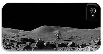 Moon Walk iPhone 5 Cases