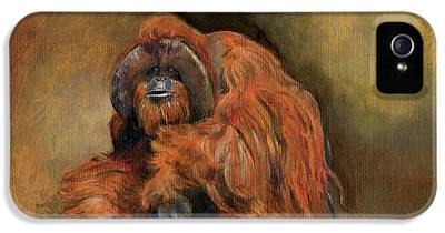 Orangutan iPhone 5 Cases
