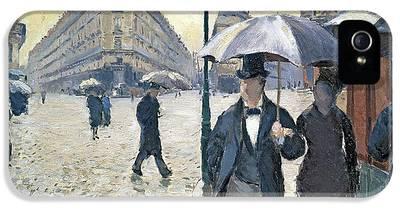 Rainy Street iPhone 5 Cases