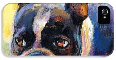 Boston Terrier IPhone 5 Cases