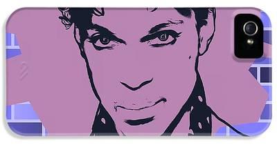Prince Tribute Digital Art iPhone 5 Cases