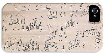 Composer iPhone 5 Cases