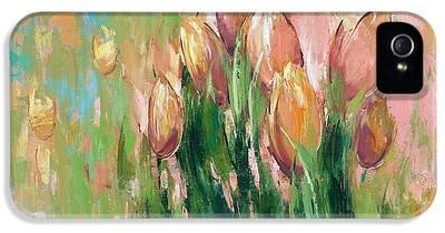 Tulips iPhone 5 Cases