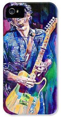 Keith Richards IPhone 5 Cases