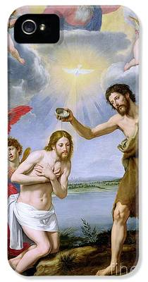 The Baptism Of Christ iPhone 5 Cases