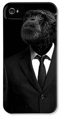 Chimpanzee iPhone 5 Cases