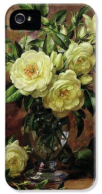White Roses iPhone 5 Cases