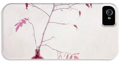 Prickly Wild Rose iPhone 5 Cases